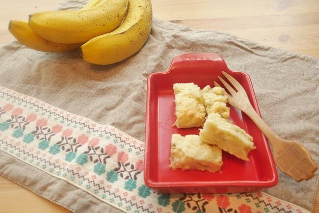 おからバナナケーキ