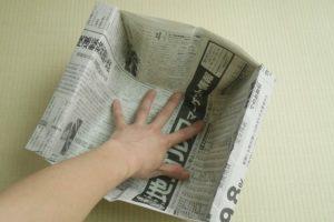 新聞紙 紙箱