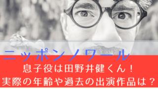 ニッポンノワール  子役